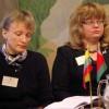 Konferencijos posėdžiams pirmininkauja Dr. Svetlena Nomohaj ir Doc. dr. Ramunė Šmigelskytė-Stukienė