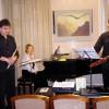 Koncertinę programą pristato TRIO VYTOKI (Minskas)- Sergejus Machovas (fleita), Irina Avdejeva (fortepijonas), Aleksejus Frolovas (fagotas)