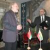 Konferencijos pradžioje įžanginį žodį tarė M.K. Čiurlionio namų direktorius Stasys Urbonas ir Rietavo Oginskių kultūros istorijos muziejaus direktorius Vytas Rutkauskas. Nuotrauka Nedimino Zemlicko