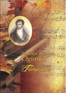 M.K.O. 24 polonezai fortepijonui. Klaipeda, 2012-800