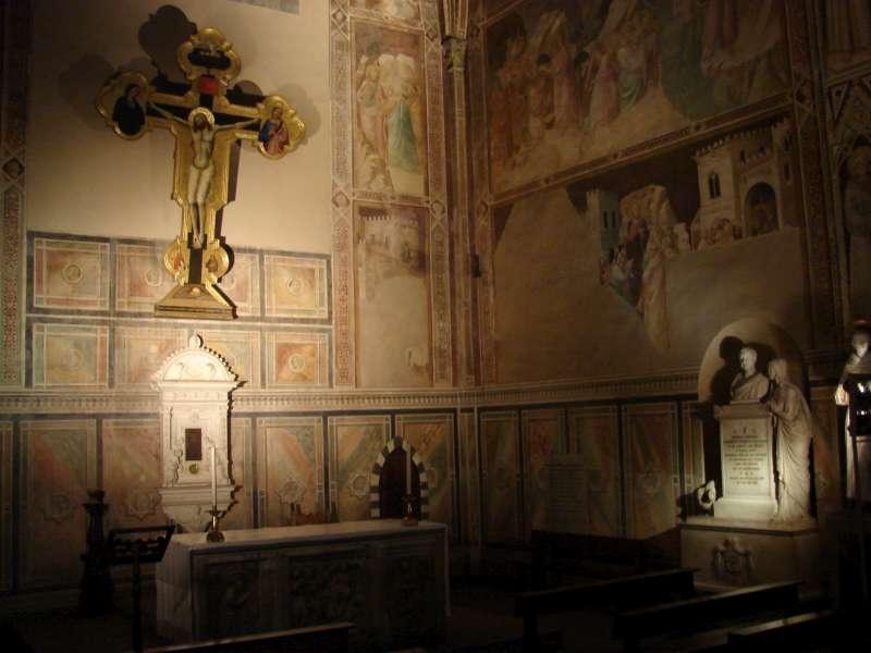 Santa Croce bazilika Florencijoje.   2008 m. Nuotrauka Vyto Rutkausko (2)-800
