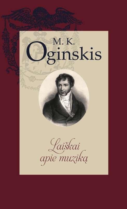 M.K. Oginskio knygos Laiškai apie muziką viršelis